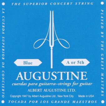 Augustine AUBLU-5 A-5 snaar voor klassieke gitaar