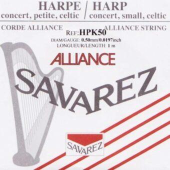 Savarez HPK-50 kleine of concert harp snaar plain KF