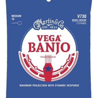 Martin V730 snarenset voor 5-snarige banjo