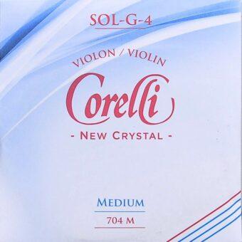Corelli CO-704-M vioolsnaar G-4 4/4
