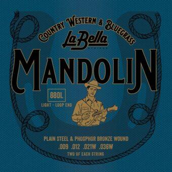 La Bella L-880L snarenset mandoline