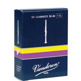 Vandoren VDC-15 rieten voor Bb-klarinet 1.5