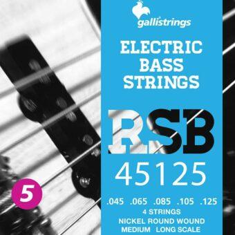 Galli RSB-45125 snarenset elektrische basgitaar