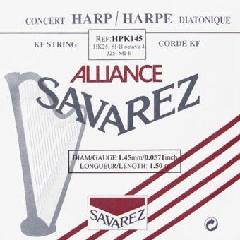 Savarez HPK-145 kleine of concert harp snaar