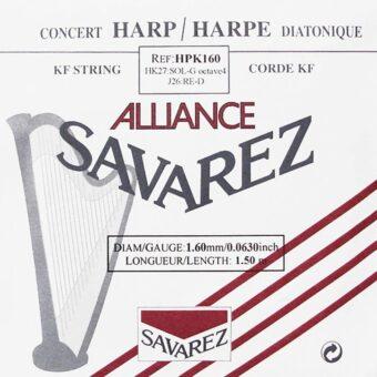 Savarez HPK-160 kleine of concert harp snaar