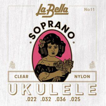 La Bella L-11 snarenset sopraan ukelele