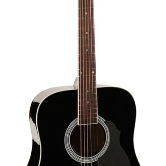 Richwood RD-12-BK akoestische gitaar