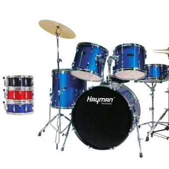 Hayman HM-400-BK 5-delig drumstel