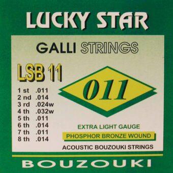 Galli LSB-11 snarenset bouzouki