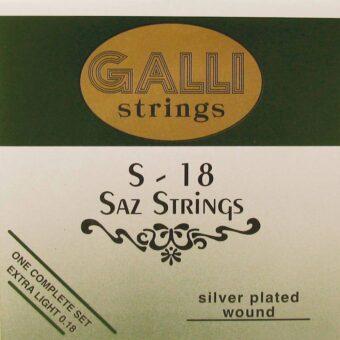 Galli S-018 snarenset saz