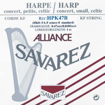 Savarez HPK-47-B kleine of concert harp snaar