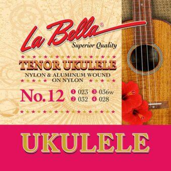 La Bella L-12 snarenset tenor ukelele