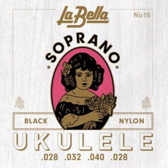 La Bella L-15 snarenset sopraan ukelele