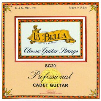 La Bella L-OG20 snarenset octaafgitaar