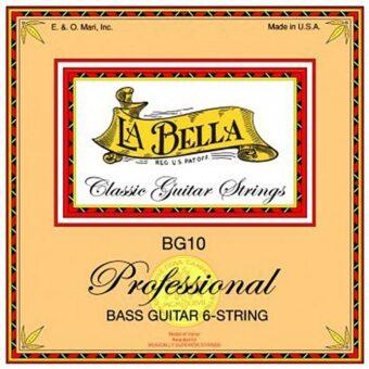La Bella L-BG10 snarenset 6-snarige basgitaar