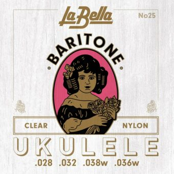 La Bella L-25 snarenset bariton ukelele