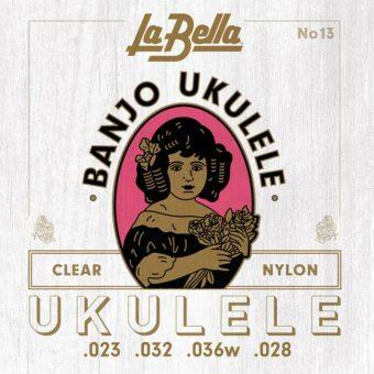 La Bella L-13 snarenset banjo-ukelele