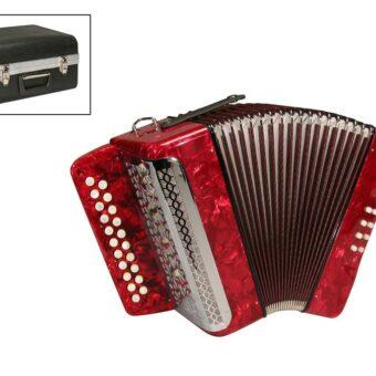 private label XG-08-BCR diatonische accordeon