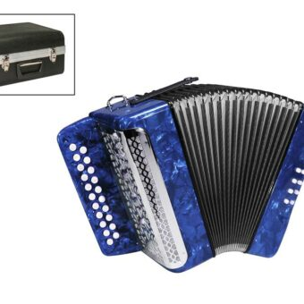 private label XG-08-BCU diatonische accordeon