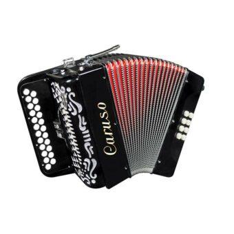 Caruso C-04BC-BK diatonische accordeon