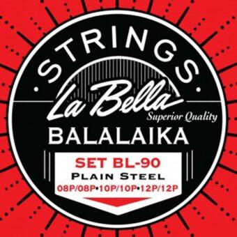 La Bella L-BL90 snarenset balalaika
