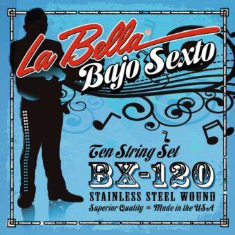 La Bella L-BX120 snarenset bajo sexto