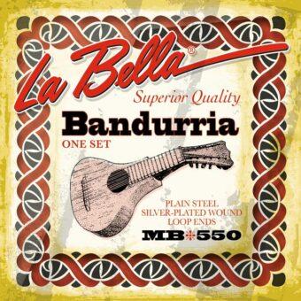 La Bella L-MB550 snarenset bandurria