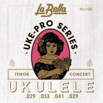 La Bella L-100 snarenset voor concert/tenor ukelele