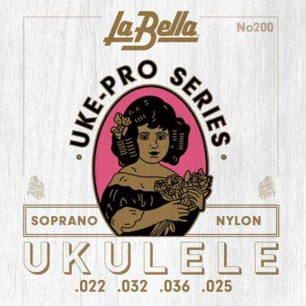 La Bella L-200 snarenset voor sopraanukelele