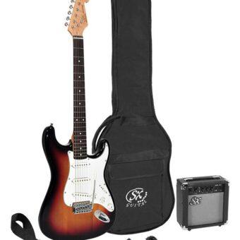SX SE1SK-3TS elektrisch gitaarpakket