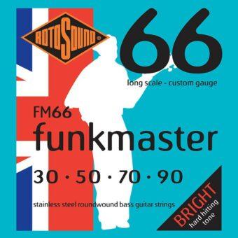 Rotosound FM66 snarenset basgitaar