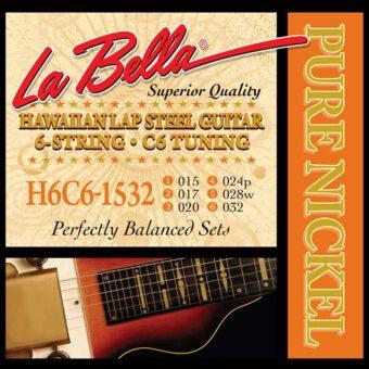 La Bella L-H6C61532 snarenset voor lapsteel