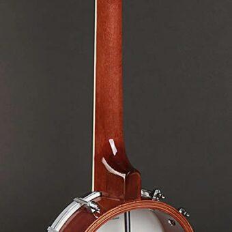 Richwood RMBU-404 ukelele banjo. open achterkant