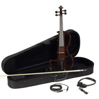 Leonardo EV-50-W elektrische viool met actief Shadow element