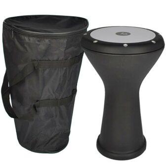 Vatan VDE-3002 gegoten aluminium goblet drum bekleed met Faux leer