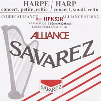 Savarez HPK-52R kleine of concert harp snaar