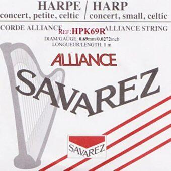 Savarez HPK-69R kleine of concert harp snaar