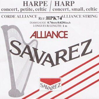 Savarez HPK-74 kleine of concert harp snaar