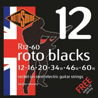 Rotosound R12-60 snarenset elektrisch nickel wound 12-60