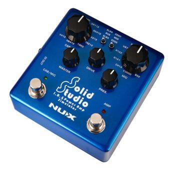 NUX NSS-5 versterker cabinet en microfoon simulator pedaal