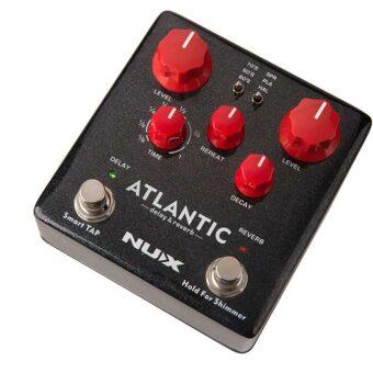 NUX NDR-5 digitale delay en reverb pedaal met tap tempo freeze en shimmer