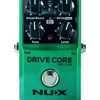 NUX DRICDLX overdrive pedaal DRIVE CORE DELUXE