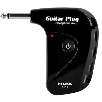 NUX GP-1 gitaarplug hoofdtelefoon versterker met Aux-in