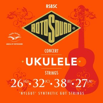Rotosound RS85C snarenset concert ukelele 'nylgut' synthetic gut