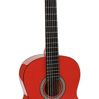 Salvador CG-144-RD klassieke gitaar 4/4 maat