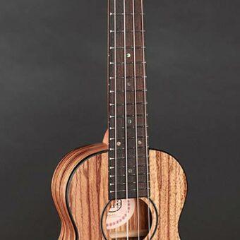 Korala UKS-510 sopraan ukelele geheel zebrano