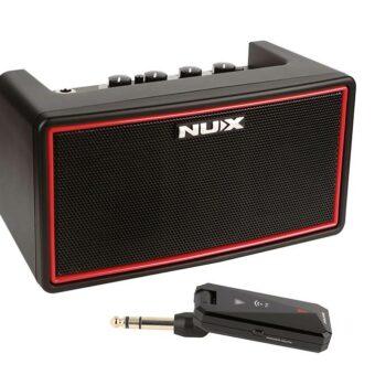 NUX MIGHTY-AIR draadoze oplaadbare stereo gitaar versterker incl. zender bluetooth