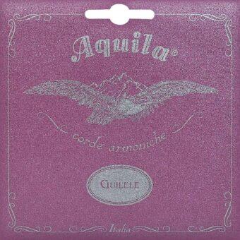 """Aquila AQ-96C guilele/guitalele snaren set voor 17"""" E-A-D-G-B-E (omwonden 4e"""