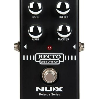 NUX RDP-10 Recto Distortion heavy American preamp overdrive analoog effectpedaal